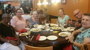 On Friday, July 22 we met as a church group at the Yummy House in Ocala FL. A good and delicious time was had by all.