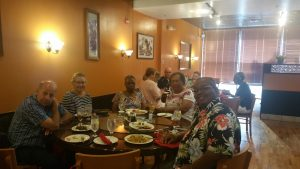 Friday Night out on the town (in Ocala). A large group from Unity of Ocala met and had a wonderful gourmet Chinese food experience. We all give the Yummy House of Ocala a great recommendation.